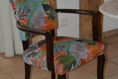 fauteuil bridge tissu lalie design
