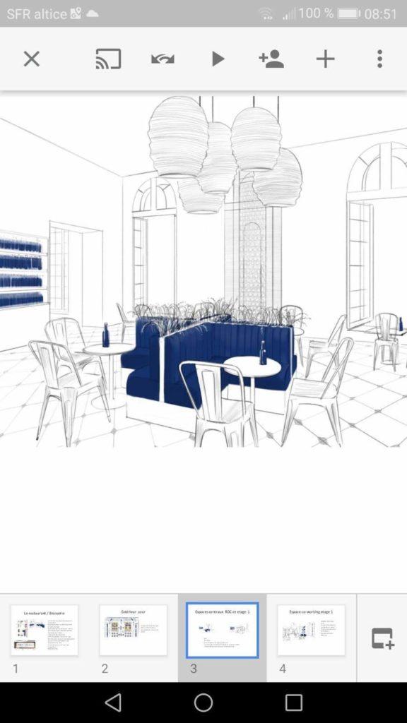 Projet banquette
